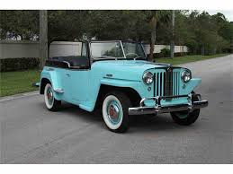 willys jeepster for sale 1948 willys overland jeepster for sale classiccars com cc 1040096