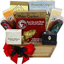cheese gift meat and cheese gourmet food gift basket with