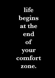 quote about your comfort zone marsha egan