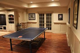 interior wonderful basement game room ideas with wooden laminate