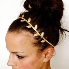 grecian headband shop grecian leaf headband on wanelo
