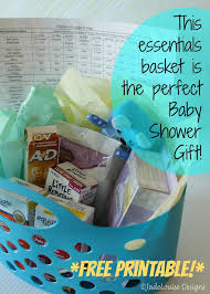 baby shower gift baskets the baby shower gift plus free printable free