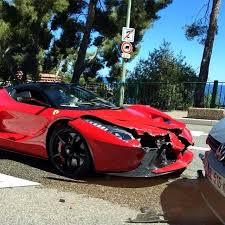 laferrari price laferrari has customer crash in monte carlo updated