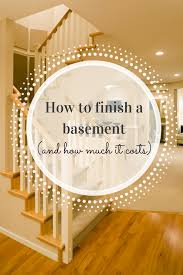 4 things you need to know before starting a basement finishing