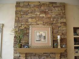 How To Build A Stone by How To Build A Stone Fireplace Surround Fireplace Designs