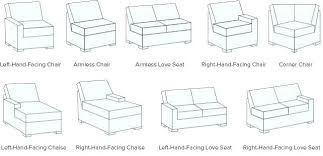 left sectional sofa or white leather modern sectional sofa set