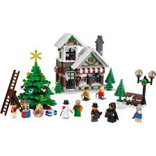 abc toy shop build a lego holiday with lego creator winter toy