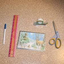 how to make a box out of a card
