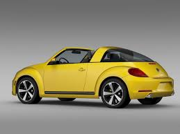 volkswagen sports car models 3d model vw beetle targa 2016 cgtrader
