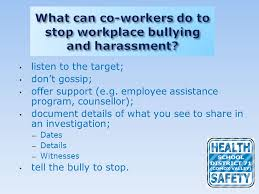 Counselling At Workplace Ppt Preventing Workplace Bullying Ppt