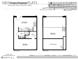 Two Bedroom Floor Plan by Two Bedroom Apartments In Richmond Va Manchester District