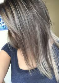 How To Dye Hair Two Colors Color Correction Spotty Blonde To Lovely Violet Ash Hair Color