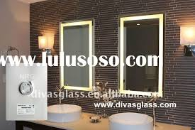 Led Backlit Bathroom Mirror Backlit Mirror Gallery Of Best Lighted Vanity Mirror Reviews With