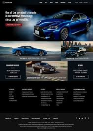 lexus website case study hb junior com web designer