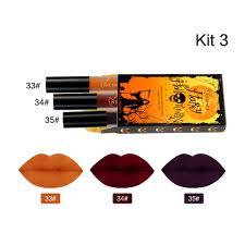 niceface pintalabios líquido retro mate de 3 colores de maquillaje