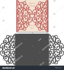 Text For Invitation Card Laser Cut Invitation Card Laser Cutting Stock Vector 432917557