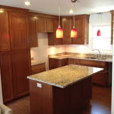 Cherry Kitchen Cabinets With Granite Countertops Cherry Cabinets With Granite Countertops Kitchen With Custom