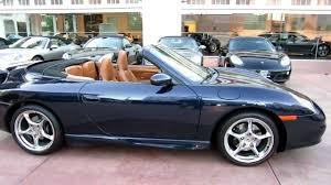 2002 porsche 911 convertible for sale 2003 porsche 911 cabriolet 996 midnight blue brown leather