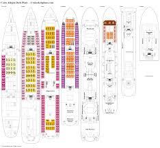 costa allegra deck plans diagrams pictures video