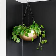 diy stainless steel bowl hanging planter ikea blanda blank