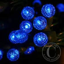 50 g12 blue led lights
