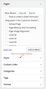 how to create multilevel hierarchical menus in wordpress press