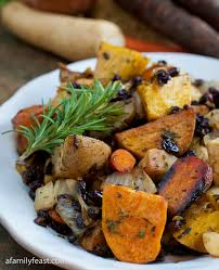 Celery Root Vegetable - roasted root vegetables a family feast