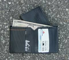 alumni wallet used rubber usa the original inner handbag wallet company