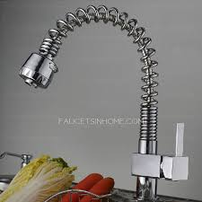 kitchen sink faucet with pull out spray modern pullout spray pipe kitchen sink faucet