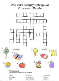 crossword puzzles kids for primary kiddo shelter