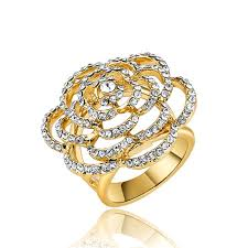 flower design rings images New style fashion jewelry big rhinestone flower design ring jpg