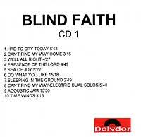 Ginger Baker Blind Faith Ginger Baker Discography Cd Part 4