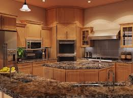 Kitchen With Maple Cabinets Granite Kitchen Countertops With Maple Cabinets Single Handle