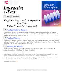 engineering electromagnetics 6th edition 2001 hayt u0026 buck