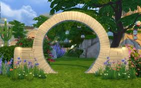 wedding arches in sims 4 mill wedding arch by biguglyhag at simsworkshop sims 4 updates