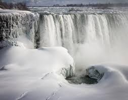 niagara falls frozen polar vortex 2014