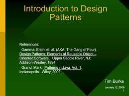 of four design patterns module 3 uml in design patterns ppt