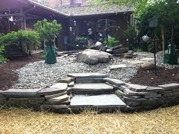 back yard rock garden top quality landscaping inc northeast
