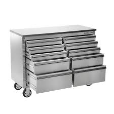 10 Drawer Cabinet Oemtools 24614 46 Inch 10 Drawer Cabinet Stainless Steel