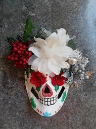 sugar skull christmas mask