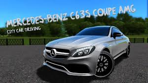mercedes city car city car driving 1 5 3 mercedes c63s coupe amg