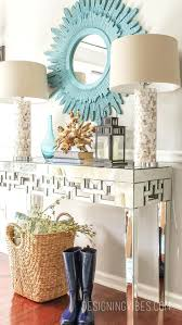Entryway Tables And Consoles Foyer Console Table And Mirror Set Entryway Lamp Entry Modern