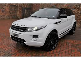 suv range rover used land rover range rover evoque suv 2 2 sd4 pure hatchback awd