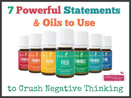 seven powerful statements oils to use to crush negative thinking