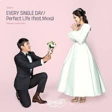 wedding dress lyrics hangul every single day lyrics klyrics
