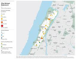 Harlem Map New York by On The Map The Atlas Of Student Homelessness In New York City