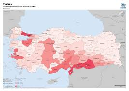 Syria On World Map by Syria Regional Refugee Response Turkey