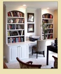 Built In Bookshelves With Desk by Idea For My Desk Only I Need More Bookshelves And A Drafting