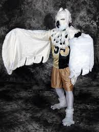 Snowy Owl Halloween Costume by The Fursuit Database
