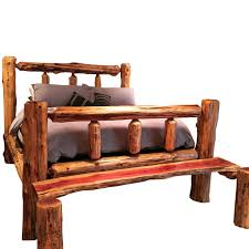 Log Bed Pictures by Signature Knaughty Log Bed Knaughty Log Co
